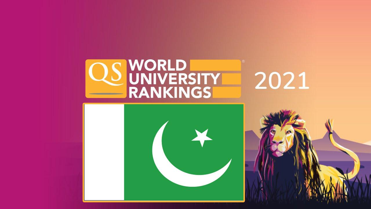 Pakistani Universities QS Rankings 2021