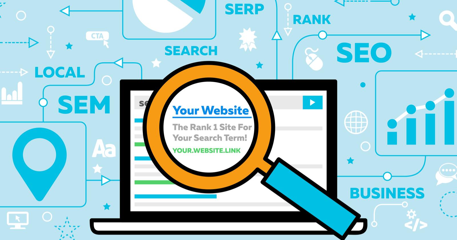 rank a website
