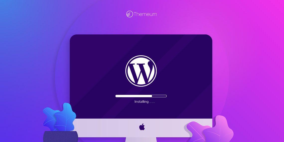 create a WordPress site or blog